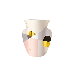 Mini Paper Vase Greeting Card - Siena