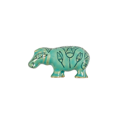 The Nile hippopotamus brooch