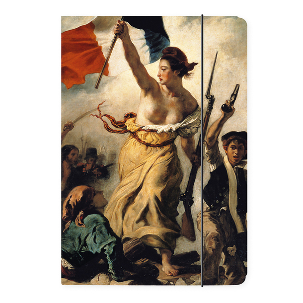 Liberty Leading the People Delacroix Folder