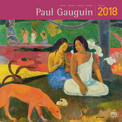 Calendrier 2018 Paul Gauguin