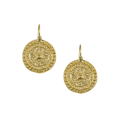 Disk Earrings