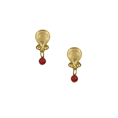 Etruscan stone Earrings