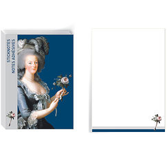 Notes adhésives - Marie-Antoinette à la rose