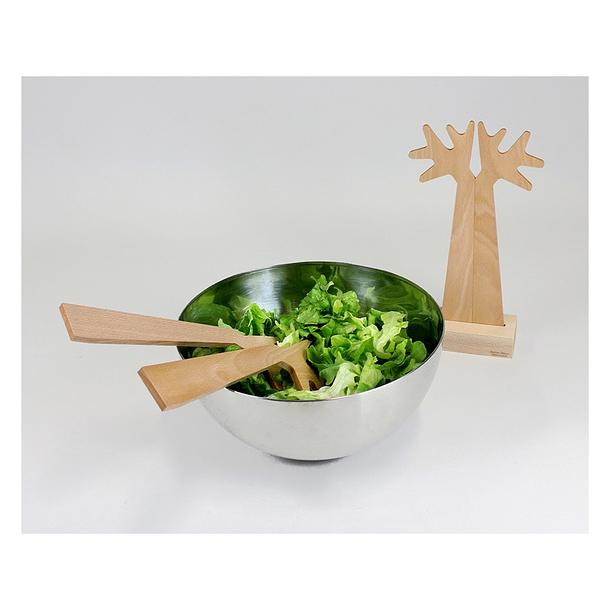 couverts salade du bout des branches boutiques de mus es. Black Bedroom Furniture Sets. Home Design Ideas