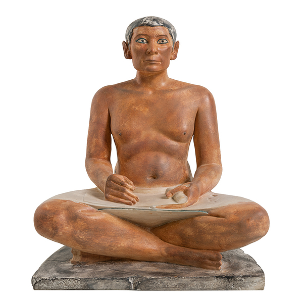 Seated scribe