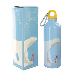 Pompon Polar bear Flask