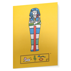 Yellow Hieroglyphs - Sketching book