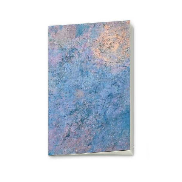 "Monet ""Water Lilies, Morning with Willows"" Notebook"