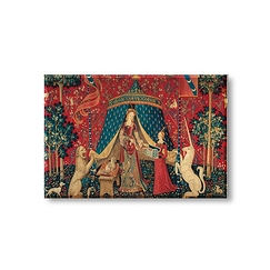 """The Lady and the Unicorn - À mon seul désir"" Magnet"
