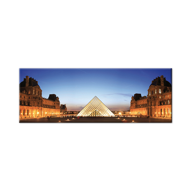 Pyramid of the Louvre Museum Magnet