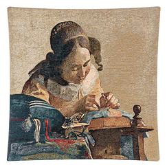 Cushion cover The Lacemaker Vermeer