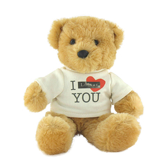 "Teddy bear ""I Louvre You"""