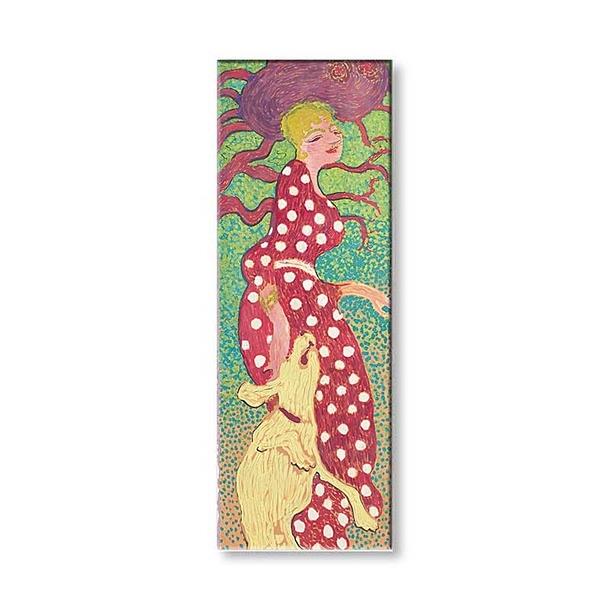 Bonnard Femme A La Robe A Pois Blancs Magnet Boutiques De Musees