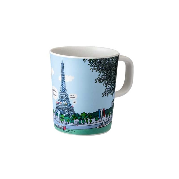 mug paris tour eiffel boutiques de mus es. Black Bedroom Furniture Sets. Home Design Ideas