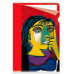 Portrait of Dora Maar Picasso Clear file - A4