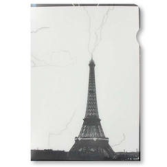"""Eiffel Tower"" Clear file A4"