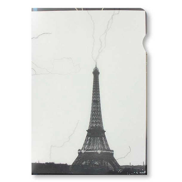 Eiffel Tower Clear file - A4