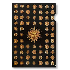 Emblems of Versailles Clear File - A4