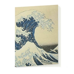 "Cahier - Hokusai ""La Vague"""