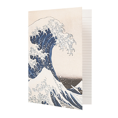 Cahier Hokusai La Vague