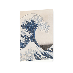 Carnet Hokusai La Vague