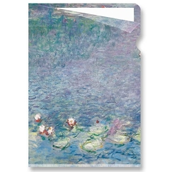 "Monet ""Waterlilies"" - Clear file A4"