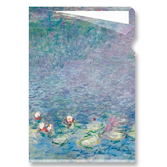 Waterlilies Monet Clear file - A4