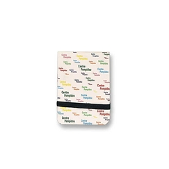 Pompidou logo - Small notebook