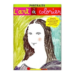 Art à colorier - Les Portraits