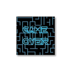 "Magnet ""Game Over"""
