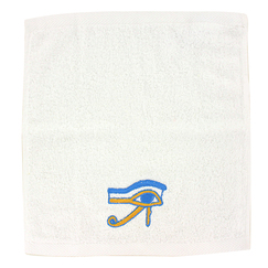 """Wedjat-eye"" guest towel"