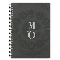 Orsay Museum's clock - Spiral notebook