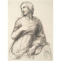 Study for Saint Catherine of Alexandria