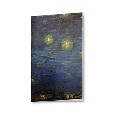 Van Gogh Starry Night Small Notebook