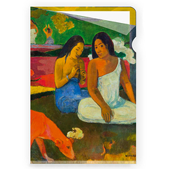 Arearea Gauguin Clear file - A4
