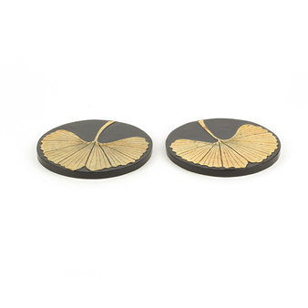2 Coasters Gingko