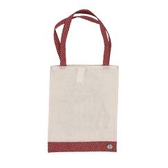 Red dots Shopping Bag