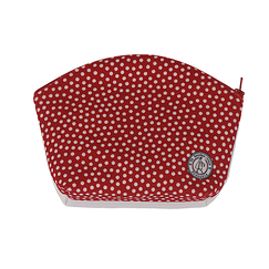 Pochette maquillage Pois rouges