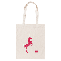 Red Unicorn - Tote Bag