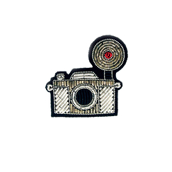 Photo camera Brooch - Macon & Lesquoy
