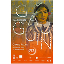 Exhibition poster Gauguin