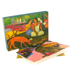 Gauguin set of cards