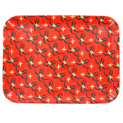 "Gauguin ""Tiare flowers"" serving tray"