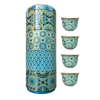 Box of 4 cups Andalusia