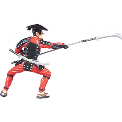 Figurine The samurai with the spear