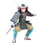 Figurine Samurai at the saber