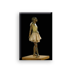 "Degas ""Small Dancer Aged 14"" - Magnet"