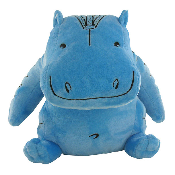Blue Hippopotamus Cuddly toy - Large