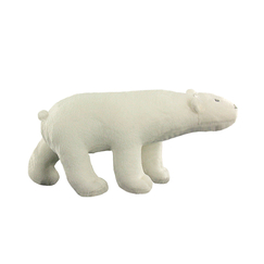 Pompon Polar Bear Cuddly toy - Small