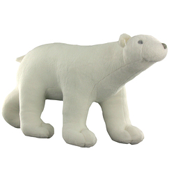 """Polar Bear"" Plush Big Model"